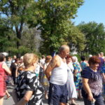 Жители города Новомосковска массово перекрывают трассы! Мы на пороге очередной революции!