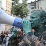 Аваковські люди напали на Віталія Шабуніна під офісом САП.