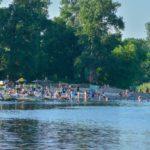 Новомосковские пляжи заражают детей различными инфекциями